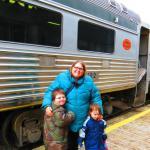 Fun train ride