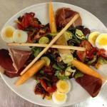Salade gourmande d'été