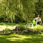 Kräutergarten im Hotelgarten