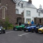 Our cars in pride of place