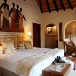 MalaMala's suites are expansive in size, and have two bathrooms as well as a sitting area and ou