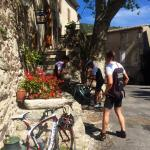 Fantastic cycling area of Cevennes National Park - and very inspiring dining in St. Martial