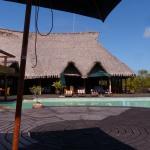 restaurant met bescheiden zwembad