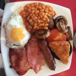 Very good full English breakfast. I will definitely come again.