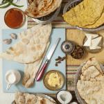 Indyjskie chlebki wypiekane w restauracji Ganesh