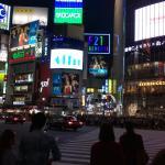 Shibuya Night view
