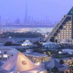 Raffles Dubai Exterior