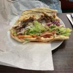 Our lamb gyro