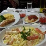 Seafood Alfreado
