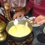 excellente fondue au COMTE , la meilleure!!!!