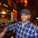 Nick manages and bartends