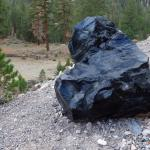 Obsidian The Size Of A Chair