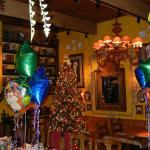 December Birthday party in a lovely restaurant.