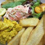 Curry Chicken Seafood Salad