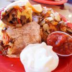 Yellow Sub Cafe Breakfast Burrito