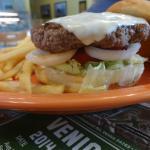 Yellow Sub Cafe Burger