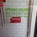 Pinstone Street Opening Hours