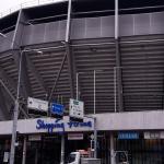 Stadion und Shopping Arena