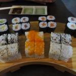 Set 7 sushi, 12 euro only!!!