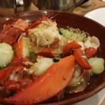 plain veggies, lobster n prawn omelette recommended