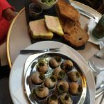 Escargo and pate Appetizers