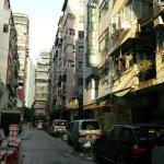 ホテル前道路