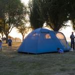 Unpowered Campsite - Premier seafront sites