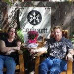 Wine tasting with Cloud Climbers at Carhartt