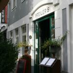 Hoteleingang Pfeiler´s Bürgerstüberl - Hotel