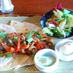 Chicken Fajitas! from our light lunch menu