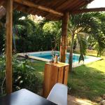 Habitacion y piscina