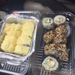 Sushi rico, a precio, y abundante!!