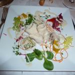 Bianco di gallina al ginepro in bagna frejda