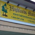 Foto de The Highlands Motel