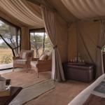 Views from your bedroom at Naboisho Camp