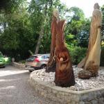 Skulpturen im Garten