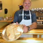 Massimo shows the Chicken Pesto Stromboli