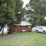 Rear view of cottage