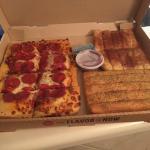 We Got the Pizza Box!