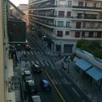 View from the window towards Avenue Jean Medecin