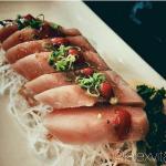 Albacore sushi! Fresher than a lettuce