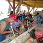 Schatzsuche im Triassic-Park auf der Steinplatte bei Waidring