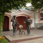Monument to Ostap Bender and Kisa Vorobyaninov