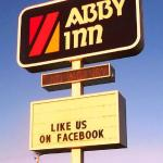 Abby Inn Sign