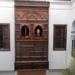 Balcon de la habitacion al patio interior
