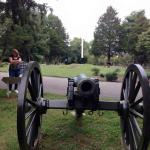 Here are some replicas of the cannons that were used during the battle there..