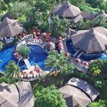 Areal view of Mangosteen Resort