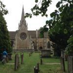 Capilla desde el cementerio