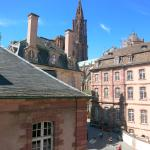 Hotel Suisse, Strasbourg: View from Room Windows