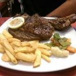 Giant beef chop